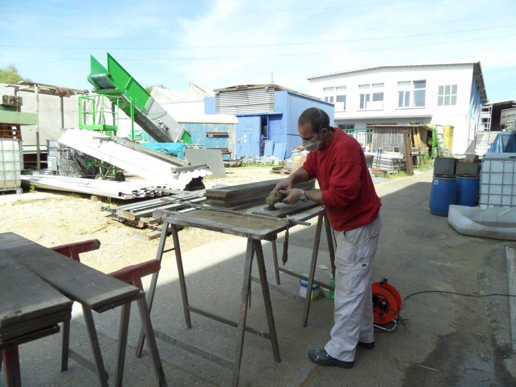 Renovation Balkonbretter